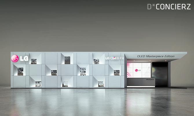 Exhibition Booth Building : Lg oled tv europe tour dconcierz